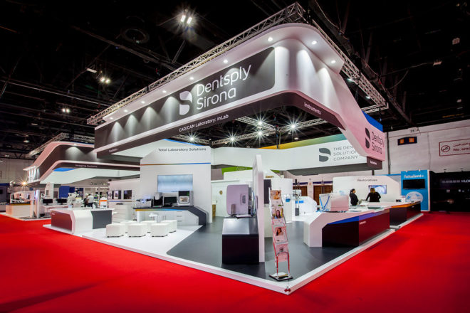 Dentsply's Exhibition Stand