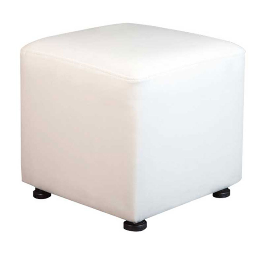 10-PSWWL-Benches-Poufs-Square-White