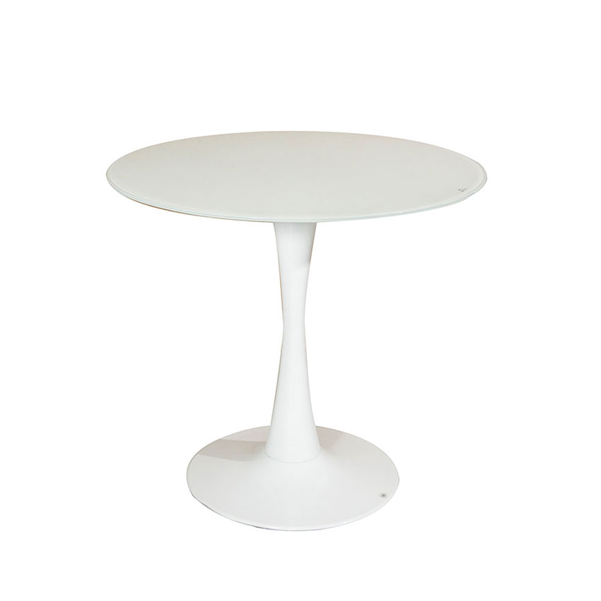 13-TRWWG-Table-Glass-Top-Tulip-White