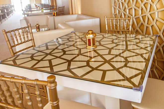 Furniture Rental - Italian Dining Table for Four