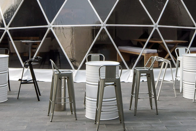 Furniture Rental - 19-LTXXS-Bar-Stool-Urban-with-Back-Galvanized