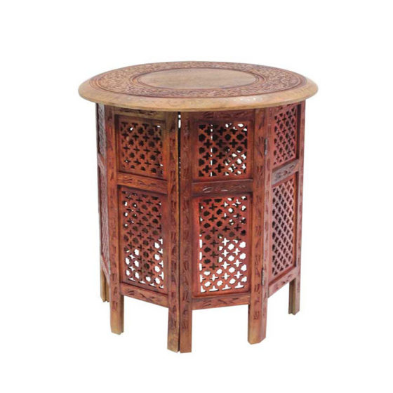 Arabic Coffee Table Wood Electra Exhibitions