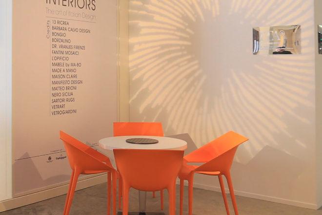 Orange Chairs - Furniture Rental