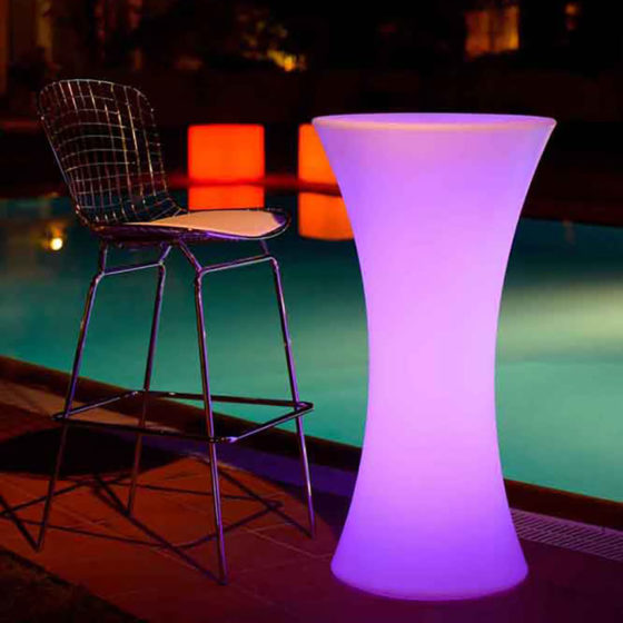 Illuminated Cocktail Table Sirocco - Furniture Rental