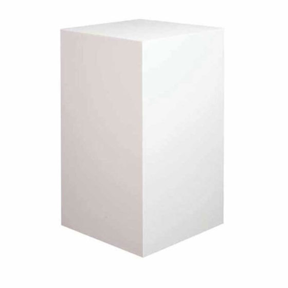 22-NMWWO-Display-Podium-White-100cm