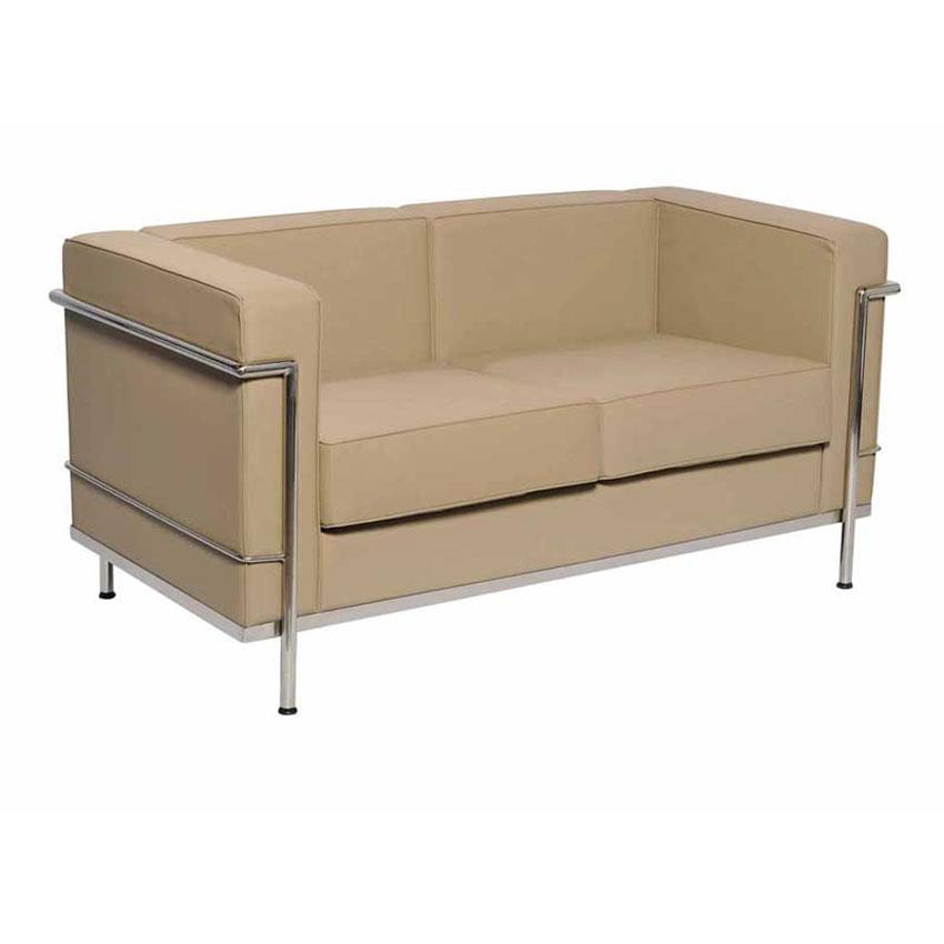 29-SRQQL-Sofa-Le-Corbu-2-Seater-Beige