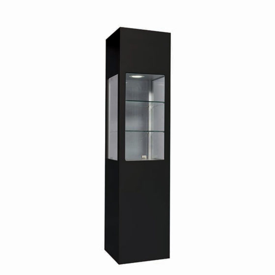 3-GBGGO-ShowcasesandStorages-Glass-Column-Black