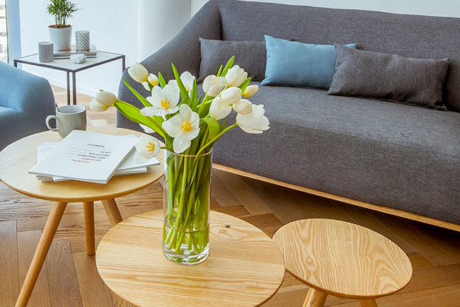 Coffee Table - Scandinavian Nesting - Furniture Rental