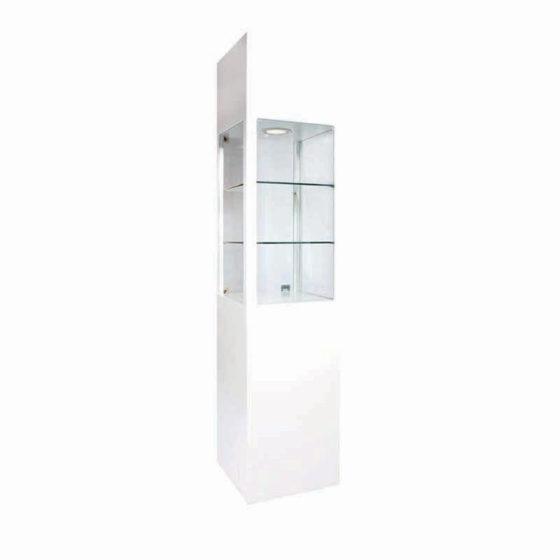 4-GMGOO-ShowcasesandStorages-Glass-Column-White