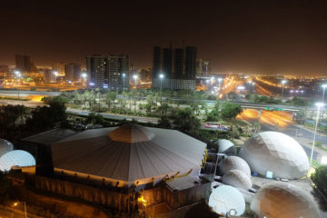 Tent Rental Dubai 1 | Dome Tents | Electra Exhibitions