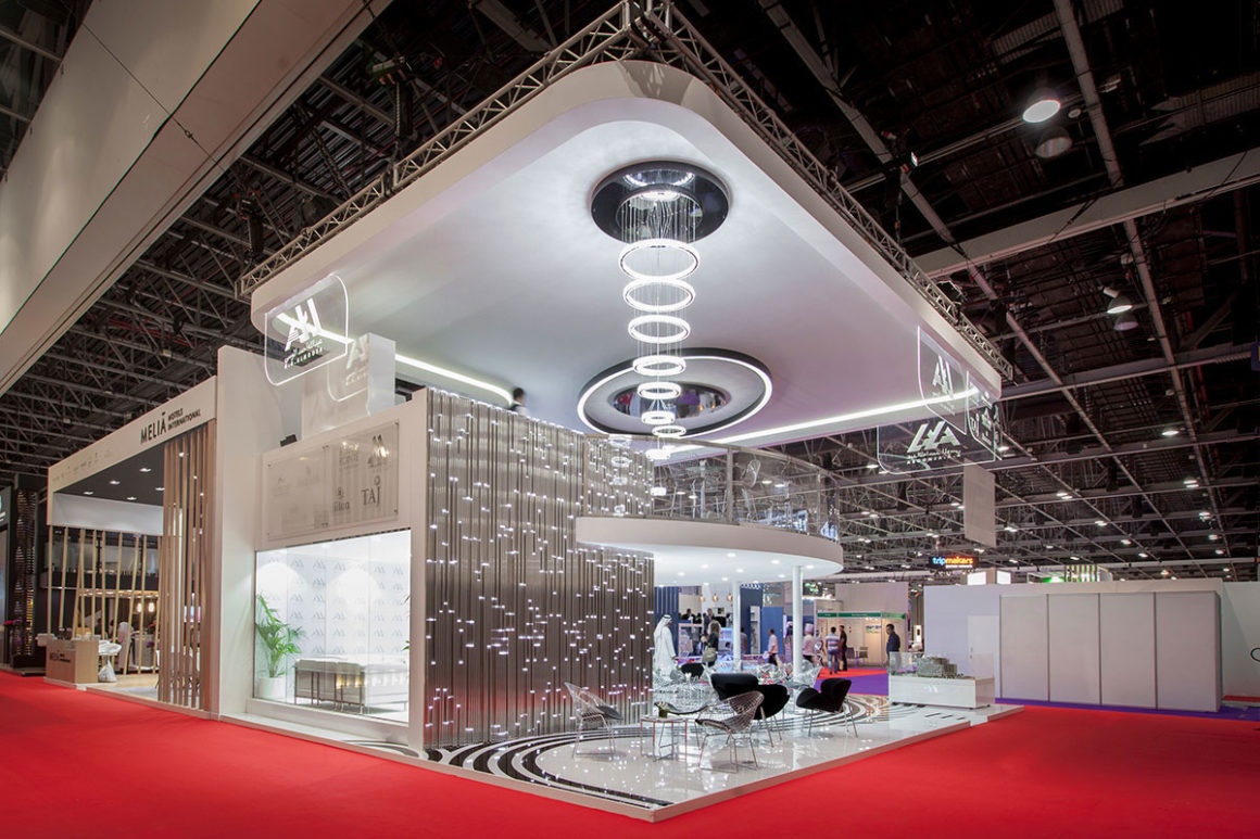 Arabian Travel Market 2018 project - AA Almoosa's Exhibition Stand