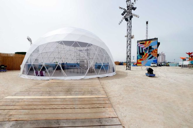 Electra Dome at Mother of the Nation Festival 2017 | Event Rentals Dubai | Electra