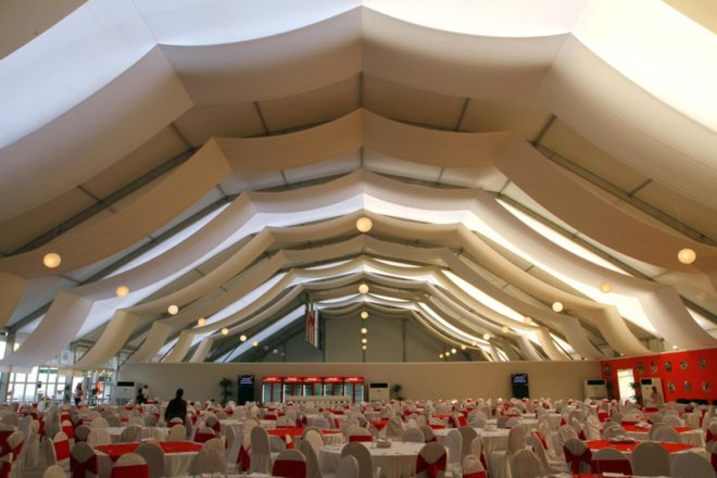 Rugby 7 Polygonal Tent | Event Rentals Dubai | Electra