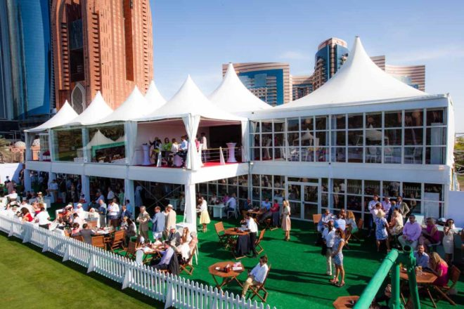 Tennis Emirates Palace Marquee Structure| Event Rentals Dubai | Electra