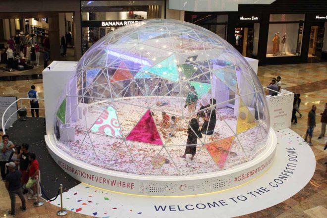 Confetti Dome at Dubai Festival City Mall