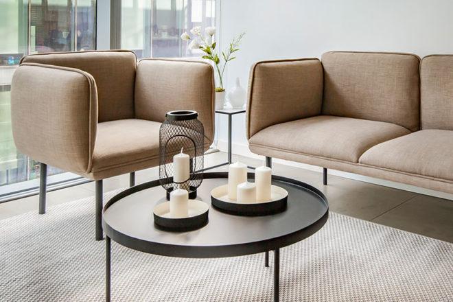 Ambiente Armchair and Sofa - Furniture Rental Dubai