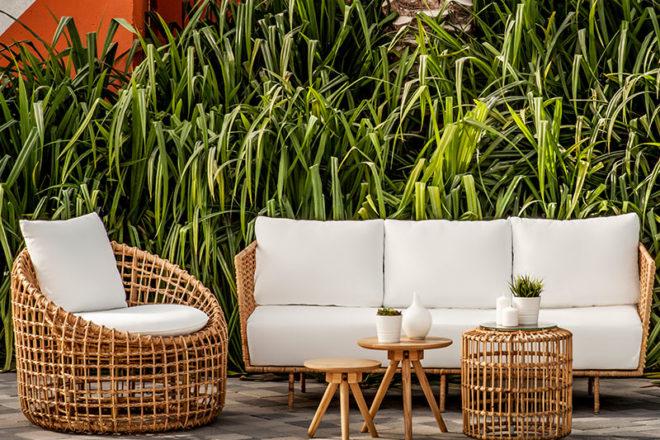 Lolah Rattan Set - Furniture Rental