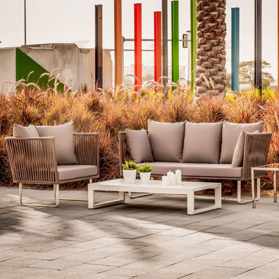 Manhattan Outdoor Set - Furniture Rental