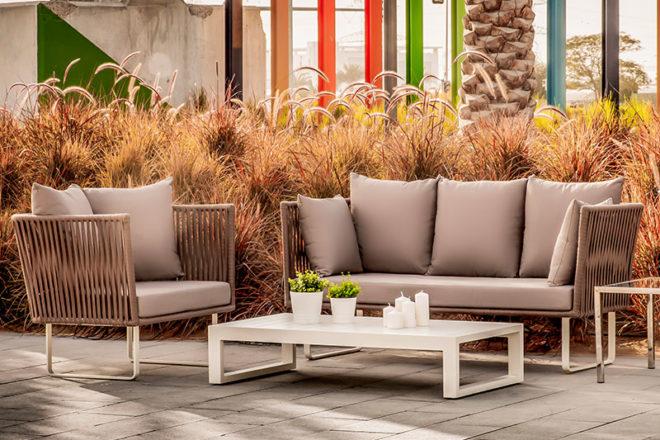 Manhattan Outdoor Set - Furniture Rental