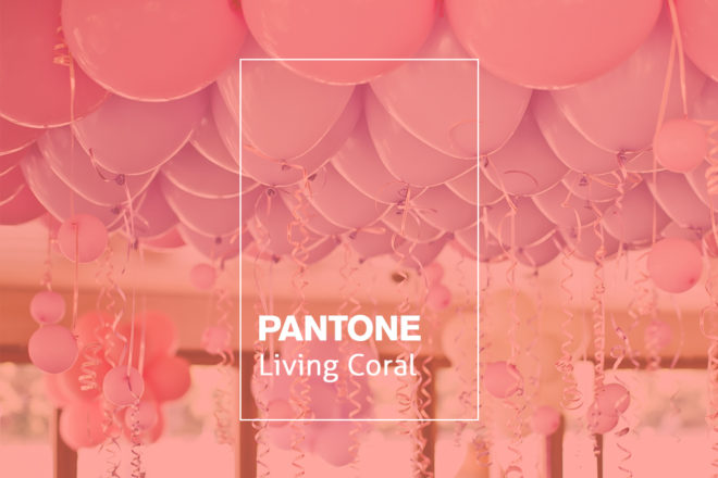 Living Coral - Colour of the Year
