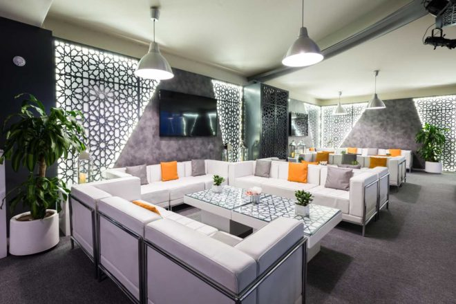 Customised furniture and decorative elements at Dubai Creek - Emaar Ramadan Tent