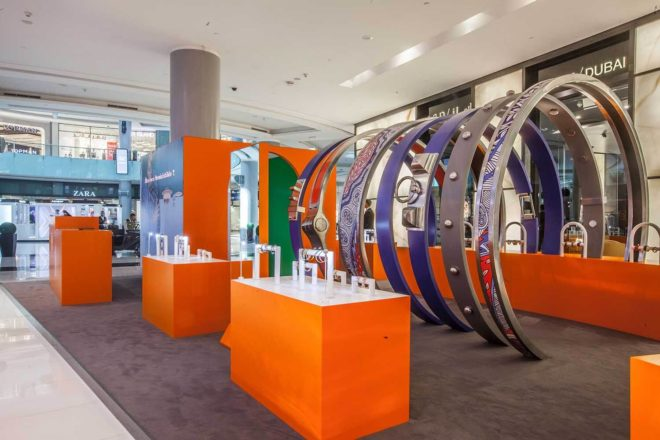 Mall Activation - Hermes Pop Up at Dubai Mall