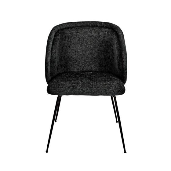 ARBBF_Bonnie-Armchair_Black_Front
