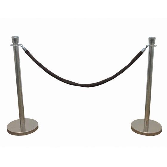 HRCRM_Poll-Silver+Rope-Black