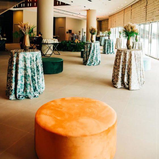 PRPBF_Round_Ottoman_Burnt_Orange_Furniture_Rental_UAE