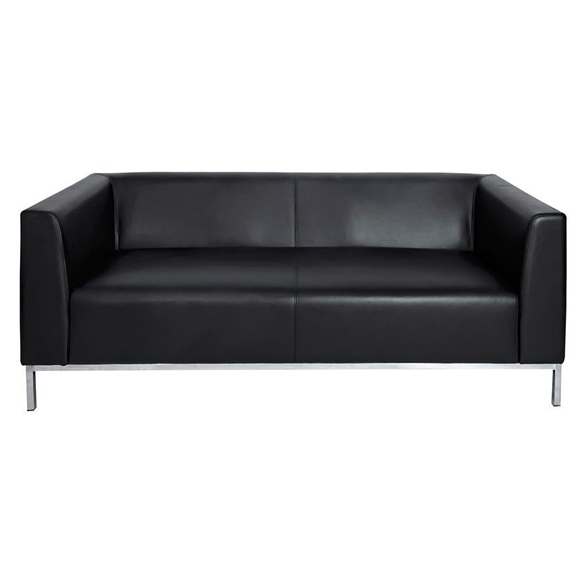 SABAL_VIP-SOFA-3-seater_Black_Front