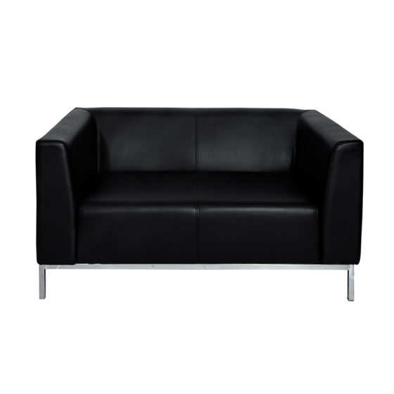 SGBAL_VIP-SOFA-2-seater_Black_Front