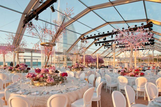Event Rental Services - Wedding at Madinat Jumeirah