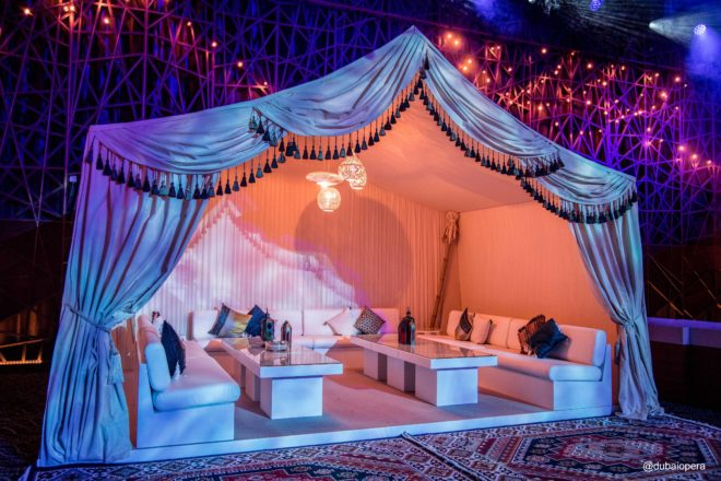 Dubai Opera - Ramadan Tent and Furniture Rental
